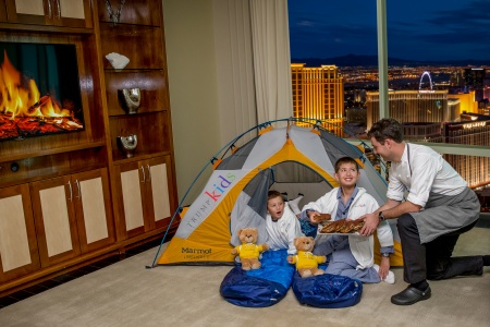Trump Las Vegas Will Take The Kids Camping…The Trump Way