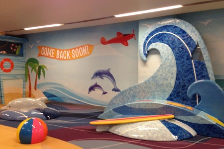 Welcome to 'The Beach' at Los Angeles International Airport