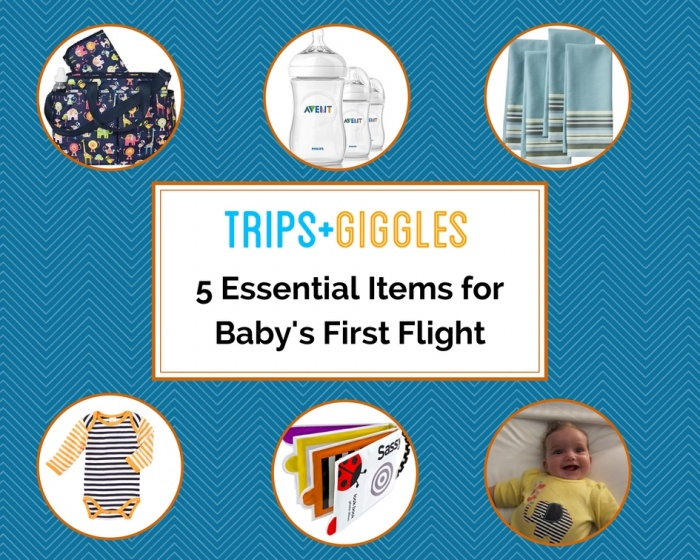5 Essential Items To Bring On Your Baby S First Flight