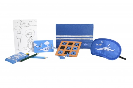 Flying KLM Will Have Your Kids Feeling 'Blue' in a Good Way