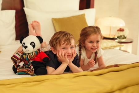 Mandarin Oriental Paris Now Has Paul Smith Junior Pajamas on Offer