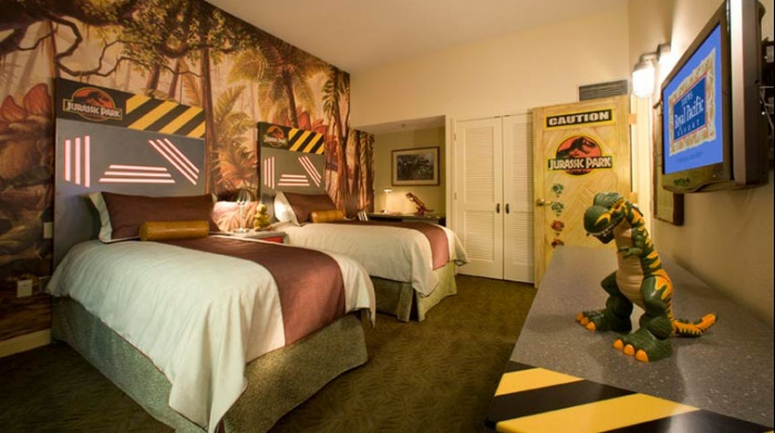 loews royal pacific jurassic park kids suites with the relaunch of jurassic park these suites at loews royal pacific also at universal orlando - Cool Themed Rooms