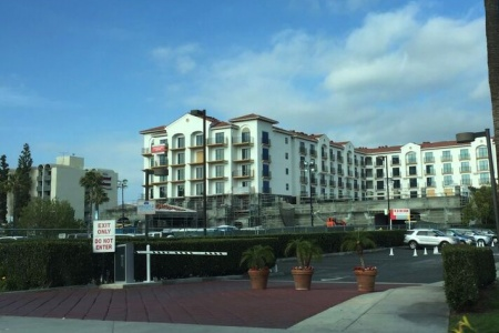 An Update on That Courtyard by Marriott Hotel at Disneyland with a Waterpark