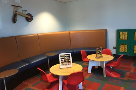 Lounge Life: Inside the AA Admirals Club Kids Lounge at LAX