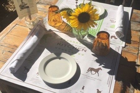 Trips + Giggles Eats: Flora's Field Kitchen