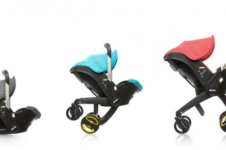 Our Prayers Have Been Answered. Here's a Stroller That Collapses into a Car Seat