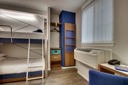 Say No More: The Pod Hotel in D.C. Has Bunk Beds