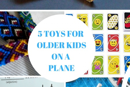 5 Toys and Activities for Keeping Older Kids Entertained on The Plane