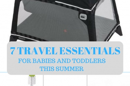 7 Travel Essentials for Babies and Toddlers This Summer