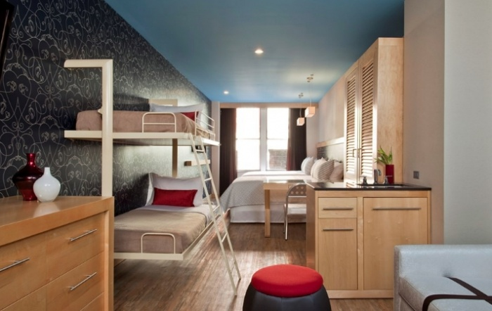 Arlo has two locations\u2014one in Soho and one in Nomad\u2014and both have bunk bed rooms available. However these cannot be connected to other rooms. & Parents Rejoice! Here are 5 Hotels in NYC With Bunk Beds | Trips and ...