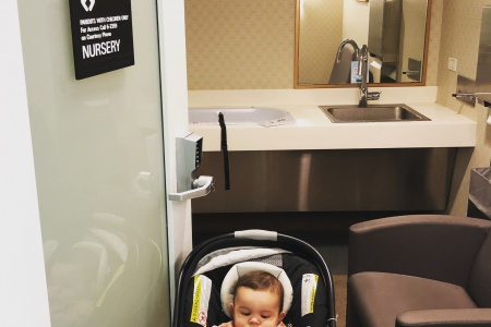 This Airport Bathroom is The Best Thing Ever (for Families)