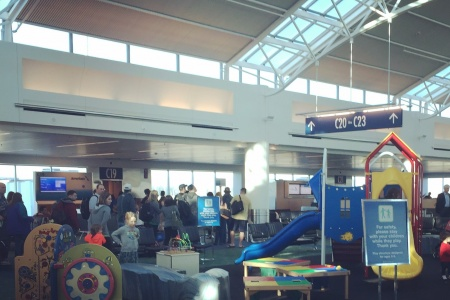 SPOTTED: An Awesome Airport Playground at PDX