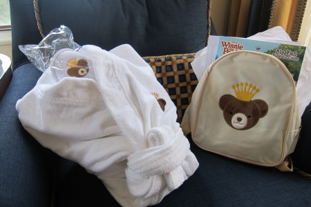 What's In the Theodore Backpack at The Langham Huntington Pasadena?