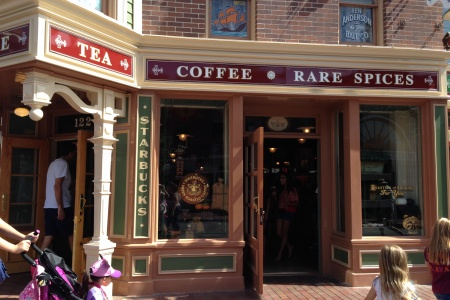 How Starbucks at Disneyland Will Disneyfy Your Iced Latte
