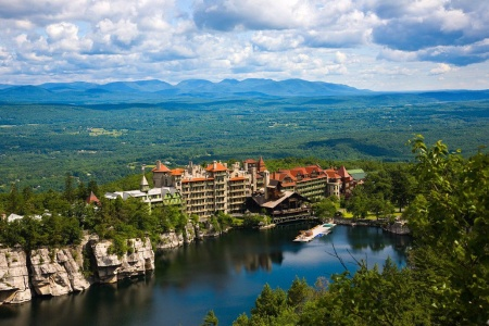 A Castle in The Catskills: The Mohonk Mountain House